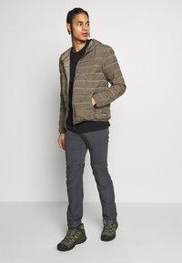 CMP - MAN JACKET FIX HOOD - Outdoor jacket - wood - 1