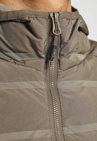 CMP - MAN JACKET FIX HOOD - Outdoor jacket - wood - 4