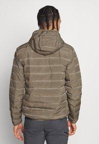 CMP - MAN JACKET FIX HOOD - Outdoor jacket - wood - 2