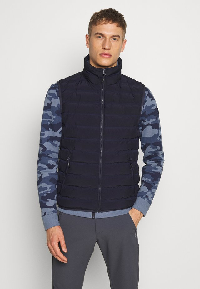 MAN GILET - Veste - dark blue