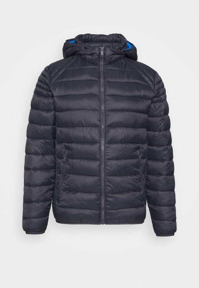 MAN JACKET ZIP HOOD - Winter jacket - antracite