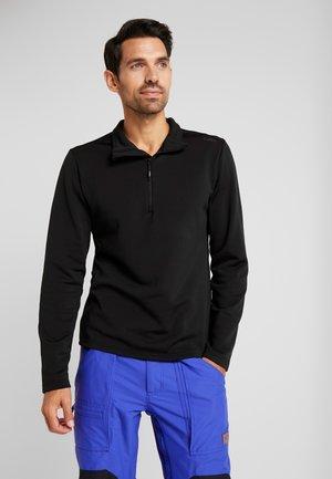 Fleece jumper - nero