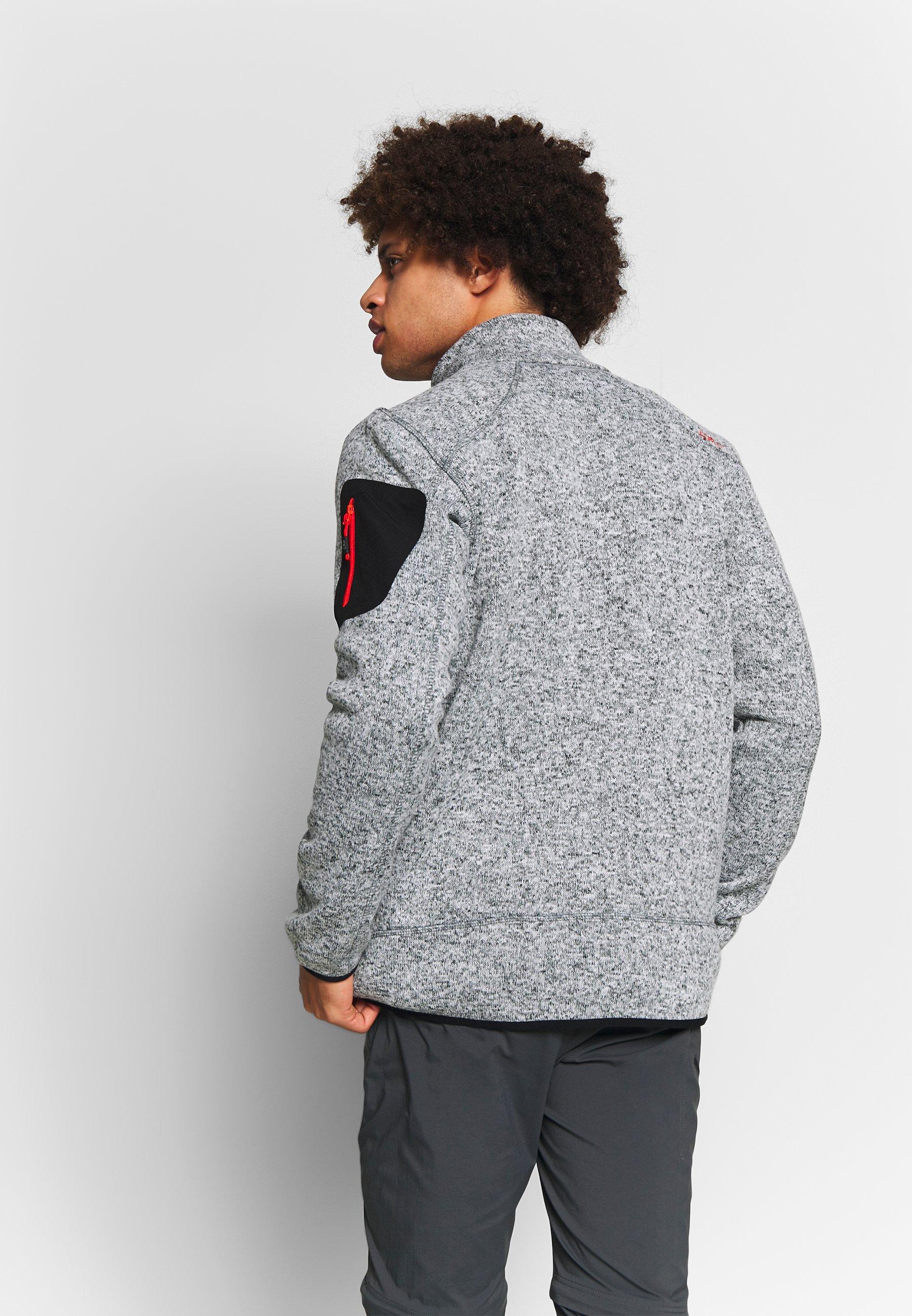 CMP MAN JACKET - Giacca in pile - grey/grey