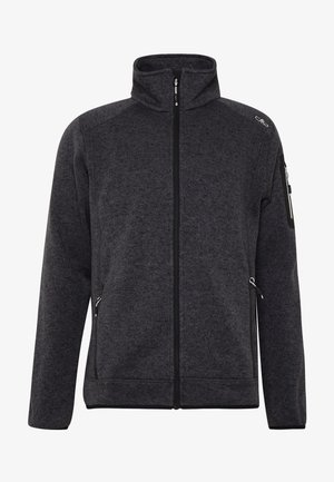 MAN JACKET - Fleece jacket - nero/glacier