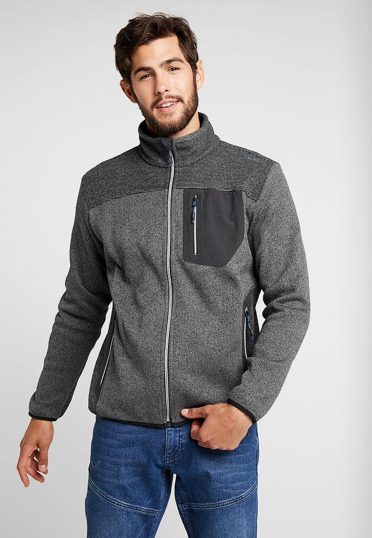 CMP - MAN JACKET - Fleece jacket - antracite