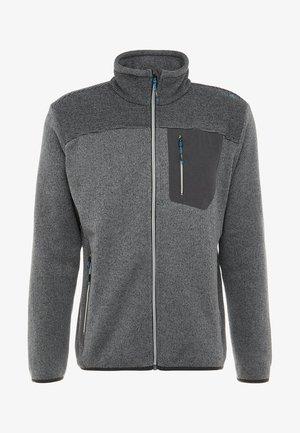 MAN JACKET - Fleece jacket - antracite