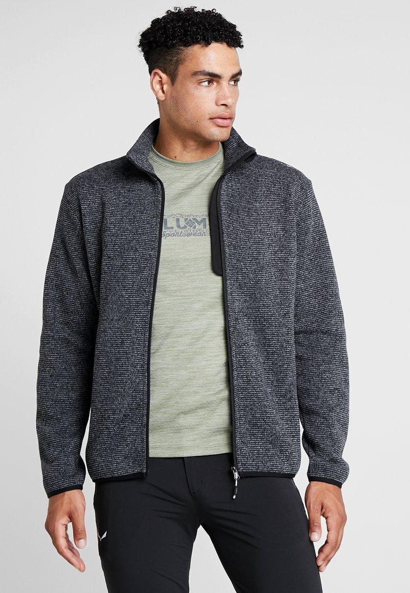 CMP - MAN JACKET - Fleece jacket - grey/antracite/nero
