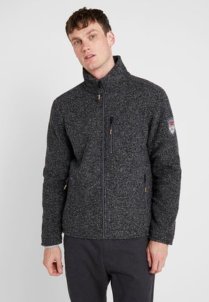 MAN JACKET - Fleece jacket - carbone