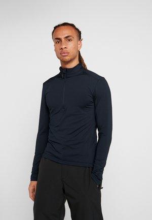 MAN - Fleece jumper - black blue