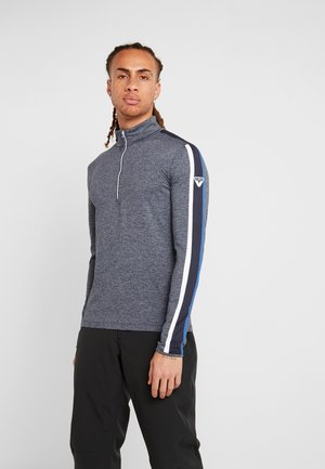 MAN - Sweat polaire - blue melange