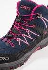 CMP - KIDS RIGEL MID SHOES WP - Hiking shoes - blue/rose