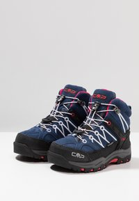 CMP - KIDS RIGEL MID SHOES WP - Hikingschuh - marine/corallo - 3