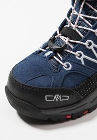 CMP - KIDS RIGEL MID SHOES WP - Hikingschuh - marine/corallo
