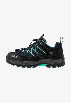 KIDS RIGEL LOW SHOES WP - Hikingschuh - blue/aqua mint