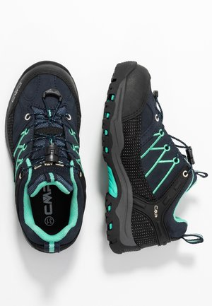 KIDS RIGEL LOW SHOES WP - Outdoorschoenen - blue/aqua mint