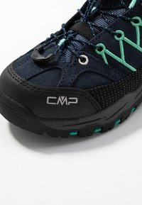 CMP - KIDS RIGEL LOW SHOES WP - Fjellsko - blue/aqua mint - 2
