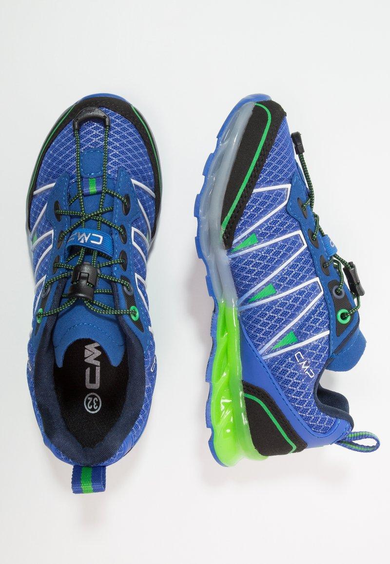 CMP - KIDS ALTAK TRAIL SHOES UKUT - Laufschuh Trail - blu elettrico/green fluo