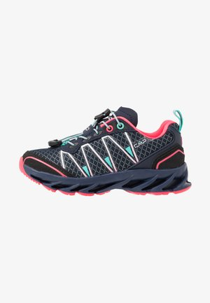 KIDS ALTAK SHOE 2.0 - Hiking shoes - navy/pink fluo/marina