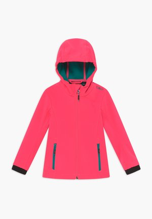 GIRL FIX HOOD - Veste softshell - gloss