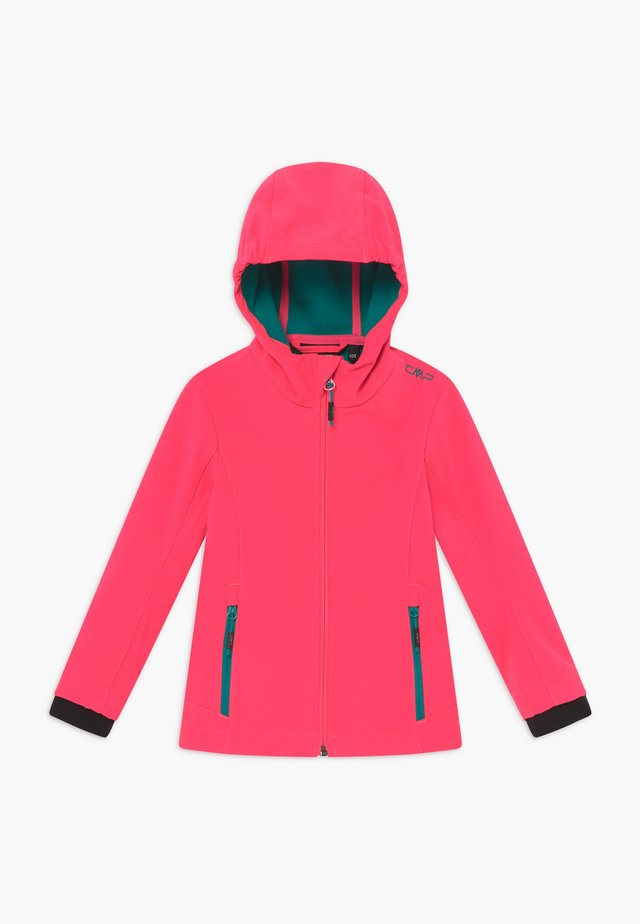 GIRL FIX HOOD - Soft shell jacket - gloss