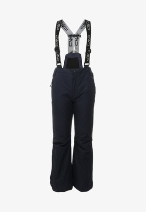 SALOPETTE - Schneehose - black blue