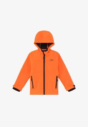 BOY  HOOD - Chaqueta softshell - flash orange