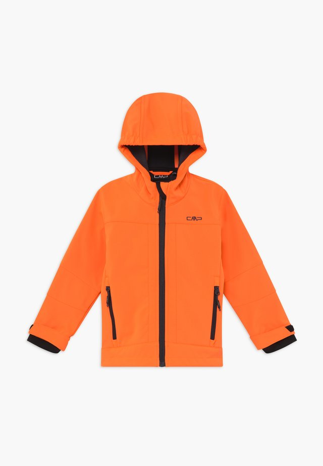 BOY  HOOD - Soft shell jacket - flash orange