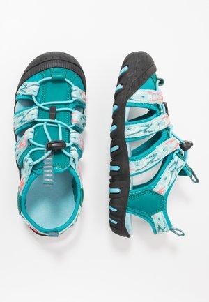 KIDS SAHIPH - Walking sandals - lake/giada