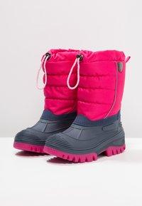 CMP - KIDS HANKI  - Zimní obuv - strawberry - 3