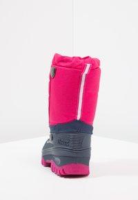 CMP - KIDS HANKI  - Zimní obuv - strawberry - 4