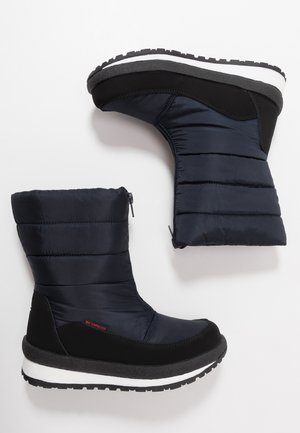 KIDS RAE WP - Botas para la nieve - black/blue