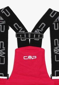 CMP - SKI SALOPETTE - Zimní kalhoty - rhodamine - 4