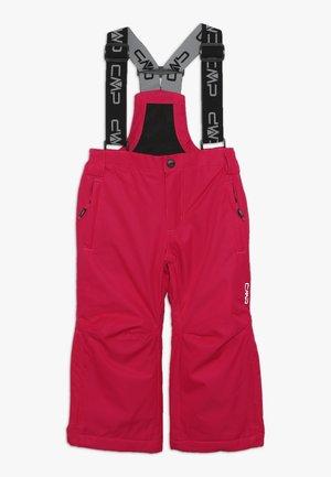 SKI SALOPETTE - Zimní kalhoty - rhodamine