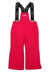 CMP - SKI SALOPETTE - Zimní kalhoty - rhodamine - 1