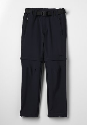 BOY PANT ZIP OFF - Pantalon classique - antracite