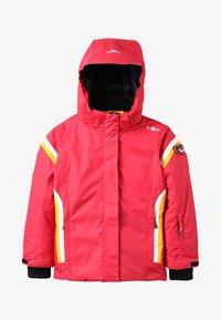 CMP - GIRL JACKET - Snowboardová bunda - coral - 4