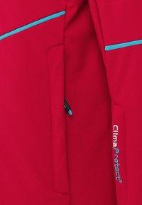 CMP - GIRL JACKET SNAPS HOOD - Snowboard jacket - granita - 3