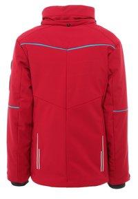 CMP - GIRL JACKET SNAPS HOOD - Snowboard jacket - granita - 2