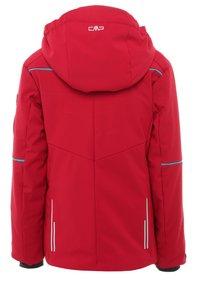 CMP - GIRL JACKET SNAPS HOOD - Snowboard jacket - granita - 1