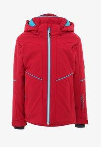 CMP - GIRL JACKET SNAPS HOOD - Snowboard jacket - granita - 0