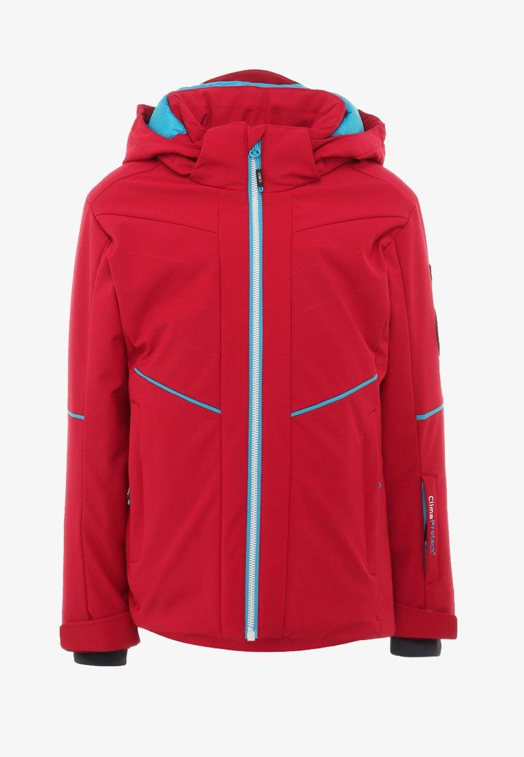CMP - GIRL JACKET SNAPS HOOD - Snowboard jacket - granita