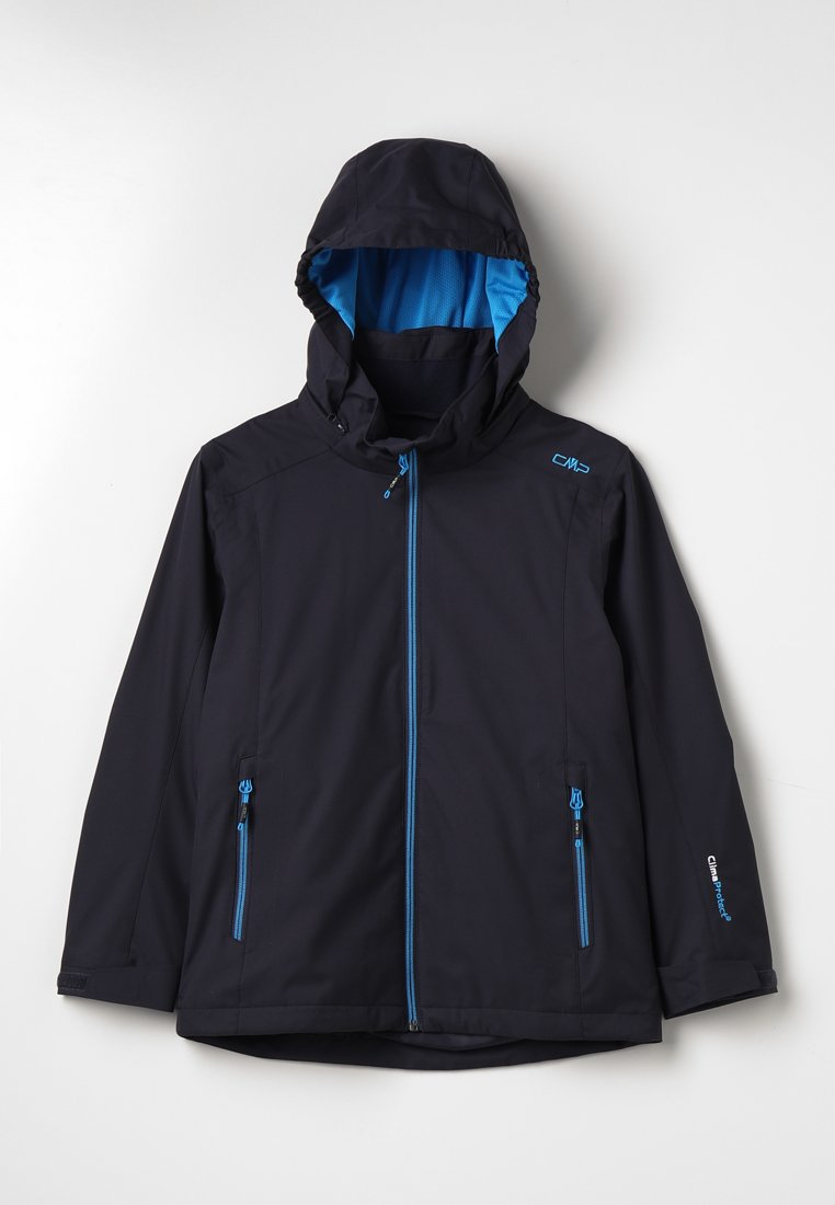CMP - BOY JACKET ZIP HOOD - Outdoorjacka - antracite