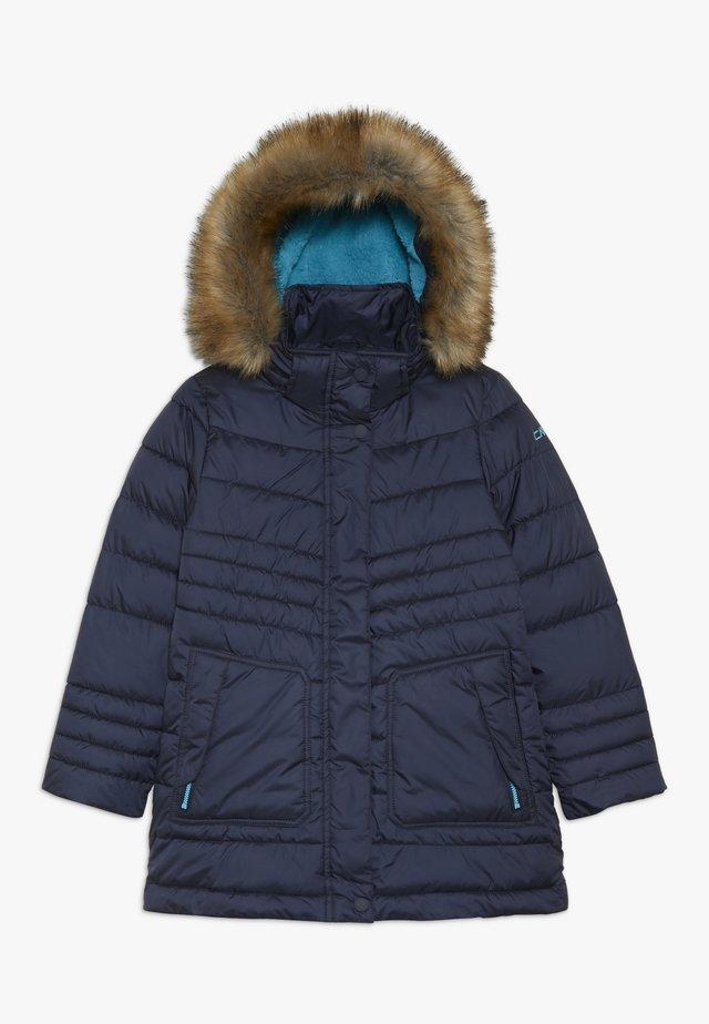 GIRL SNAPS HOOD - Winter coat - bold blue