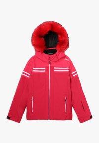 CMP - GIRL JACKET SNAPS HOOD - Ski jacket - granita - 0