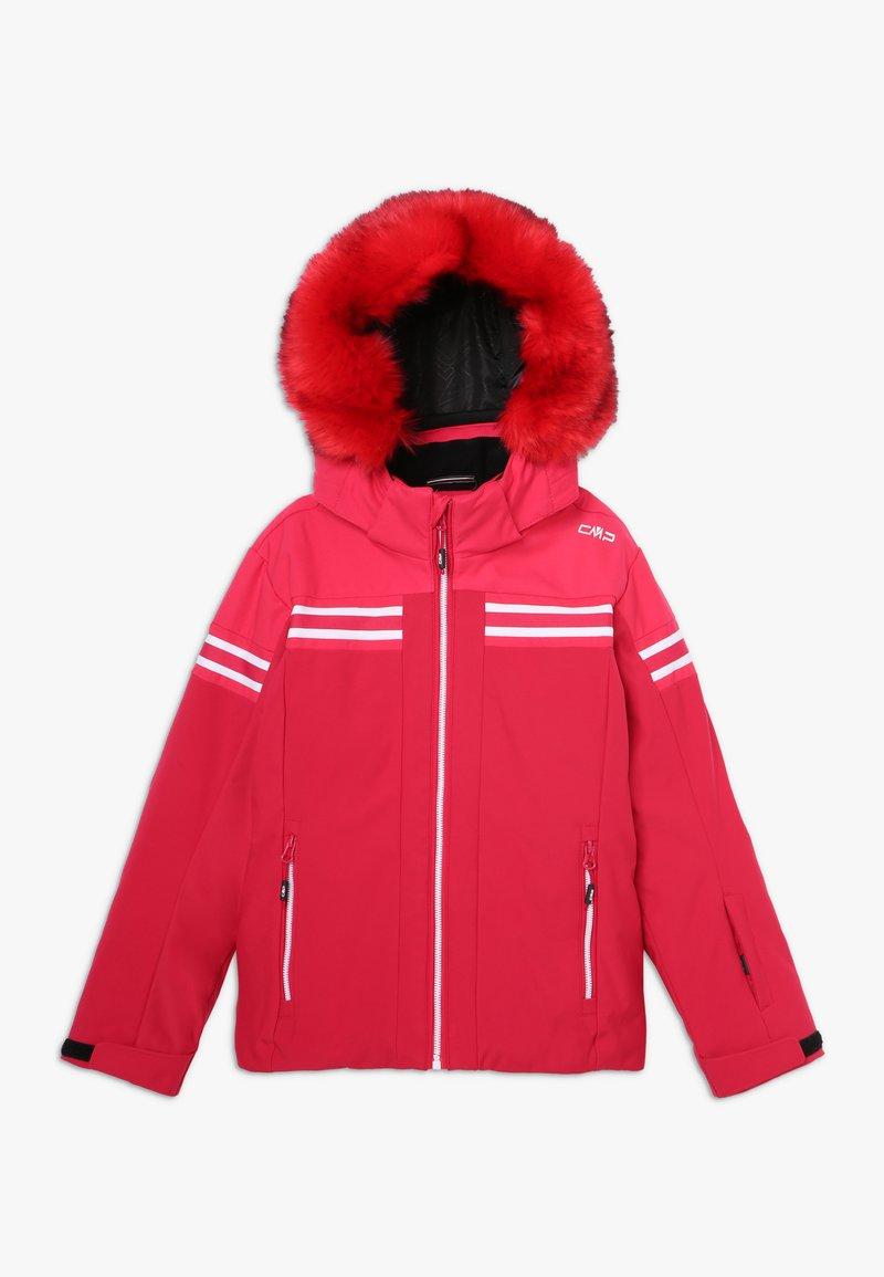 CMP - GIRL JACKET SNAPS HOOD - Ski jacket - granita