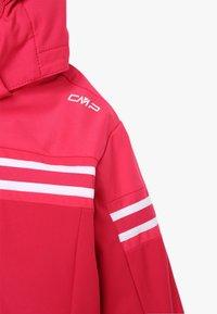 CMP - GIRL JACKET SNAPS HOOD - Ski jacket - granita - 5