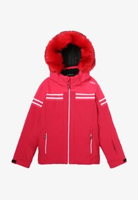 CMP - GIRL JACKET SNAPS HOOD - Ski jacket - granita - 4