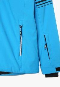 CMP - BOY JACKET SNAPS HOOD - Ski jacket - river - 4