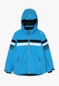 CMP - BOY JACKET SNAPS HOOD - Ski jacket - river - 0