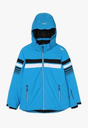 BOY JACKET SNAPS HOOD - Laskettelutakki - river